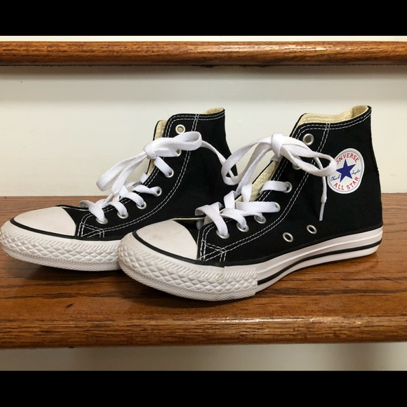 4709d2fe990 Converse Shoes - Converse boys or girls high-tops big kids size 3